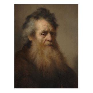 Retrato de Rembrandt de un viejo hombre 1632 Postales