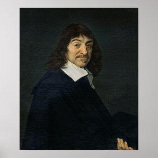 Retrato de Rene Descartes c 1649 Impresiones