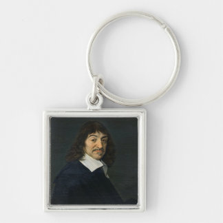 Retrato de Rene Descartes c 1649 Llavero