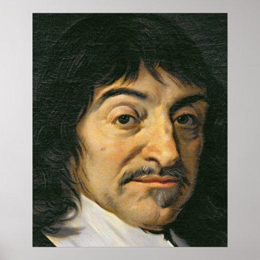Retrato de Rene Descartes c.1649 Posters