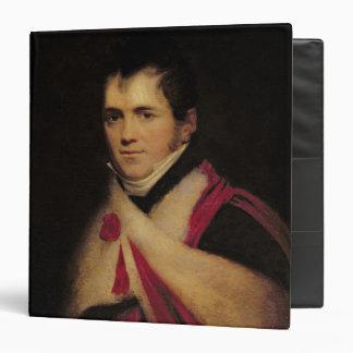 """Retrato de Rev. Edward Daniel Clarke c.1822 Carpeta 1 1/2"""""""