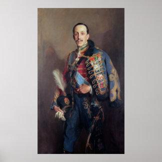 Retrato de rey Alfonso XIII de España, 1927 Poster