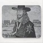 Retrato de rey Charles I Alfombrillas De Raton