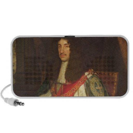 Retrato de rey Charles II, c.1660-65 Portátil Altavoces