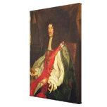 Retrato de rey Charles II, c.1660-65 Lona Estirada Galerías