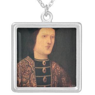 Retrato de rey Edward IV de Inglaterra Colgante Cuadrado