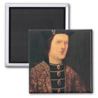 Retrato de rey Edward IV de Inglaterra Imán Cuadrado