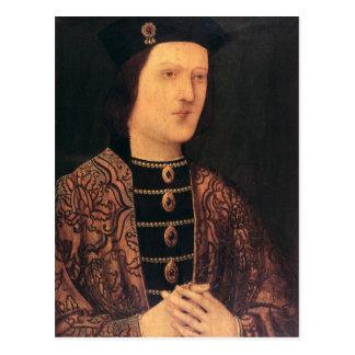 Retrato de rey Edward IV de Inglaterra Postal