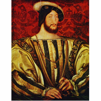 Retrato de rey Francisco I Of Francia, por Clouet Fotoescultura Vertical