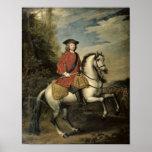 Retrato de rey George I, 1717 Impresiones
