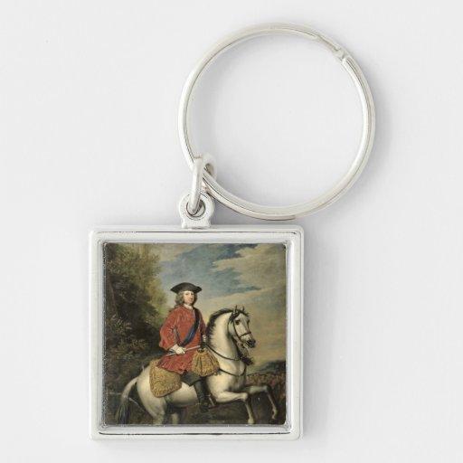 Retrato de rey George I, 1717 Llaveros Personalizados
