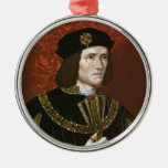 Retrato de rey inglés Richard III Ornamentos De Reyes Magos