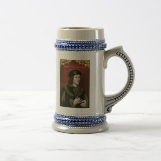 Retrato de rey inglés Richard III Taza De Café