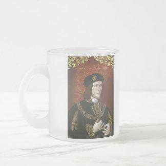 Retrato de rey inglés Richard III Tazas