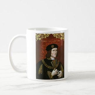 Retrato de rey inglés Richard III Taza