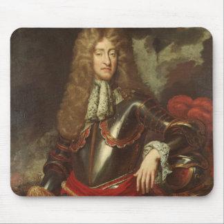 Retrato de rey James II, c.1690 Tapete De Ratones