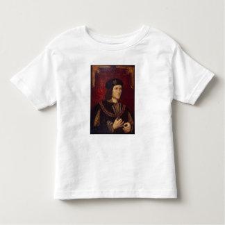 Retrato de rey Richard III Playera De Bebé