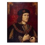 Retrato de rey Richard III Postales