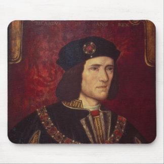 Retrato de rey Richard III Tapetes De Ratones
