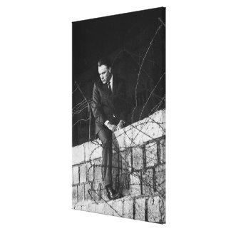 Retrato de Richard Burton Lona Estirada Galerias