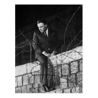Retrato de Richard Burton Postal