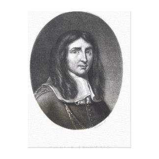 Retrato de Richard Cromwell Impresión En Lienzo
