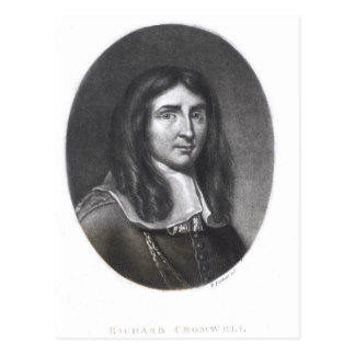 Retrato de Richard Cromwell Tarjeta Postal
