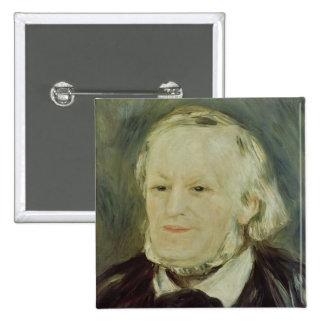 Retrato de Richard Wagner, 1893 Pins