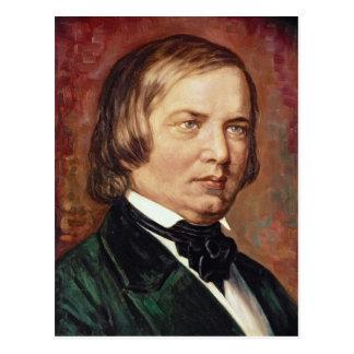 Retrato de Robert Schumann Tarjetas Postales