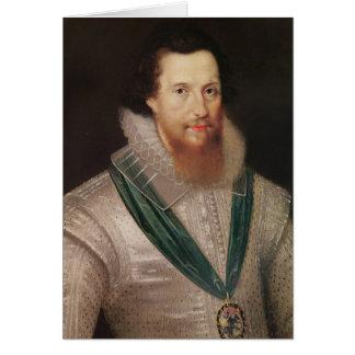Retrato de Roberto Devereux c.1596 Tarjeta De Felicitación
