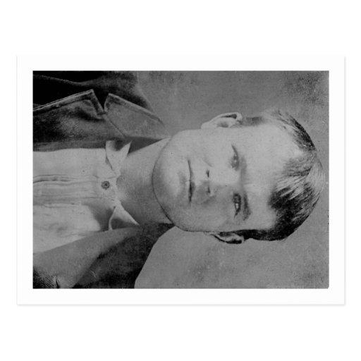 "Retrato de Roberto LeRoy Parker ""Butch Cassidy"" Tarjeta Postal"