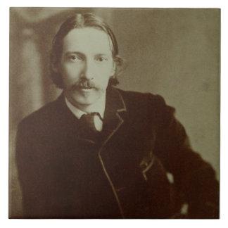 Retrato de Roberto Louis Balfour Stevenson (1850-9 Azulejo Cuadrado Grande