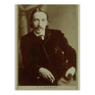 Retrato de Roberto Louis Balfour Stevenson (1850-9 Tarjeta Postal