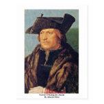 Retrato de Rodrigo De Almada By Albrecht Dürer Postal