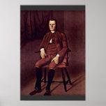 Retrato de Rogelio Sherman del conde Rafael Poster