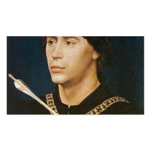 Retrato de Rogier Weyden- de Antoine Tarjeta De Visita