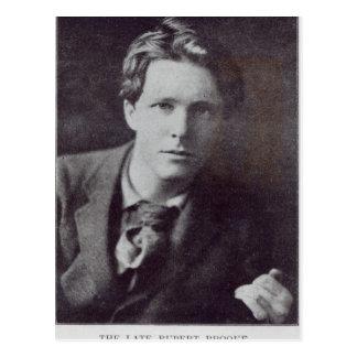 Retrato de Rupert Brooke Tarjetas Postales