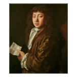 Retrato de Samuel Pepys 1666 Poster