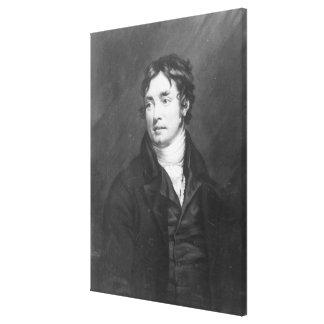Retrato de Samuel Taylor Coleridge Impresiones En Lona