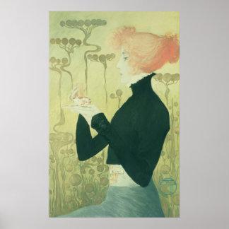 Retrato de Sarah Bernhardt Póster