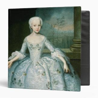 """Retrato de Sarah Eleonor Fermor 1749-50 Carpeta 1 1/2"""""""