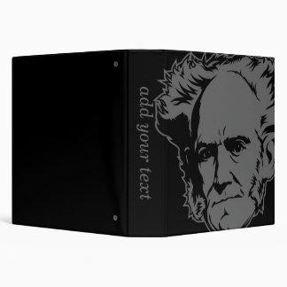 "Retrato de Schopenhauer Carpeta 1 1/2"""