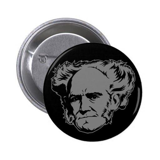 Retrato de Schopenhauer Pins