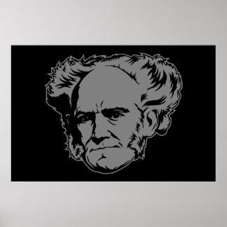 Retrato de Schopenhauer Póster