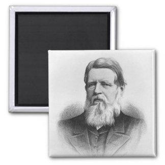 Retrato de señor adecuado Iddesleigh de Hon Imán Cuadrado