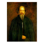 Retrato de señor Alfred Tennyson de Juan Millais Postales