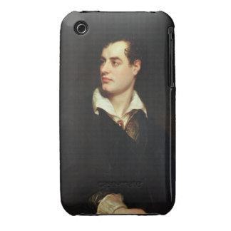 Retrato de señor Byron (1788-1824) (aceite en Funda Bareyly There Para iPhone 3 De Case-Mate