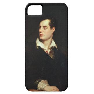 Retrato de señor Byron 1788-1824 aceite en lona iPhone 5 Cárcasa