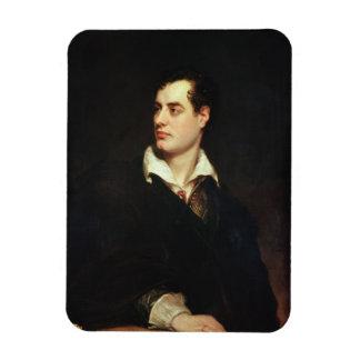 Retrato de señor Byron (1788-1824) (aceite en lona Imanes