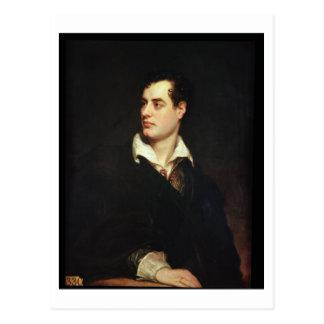 Retrato de señor Byron (1788-1824) (aceite en Tarjetas Postales